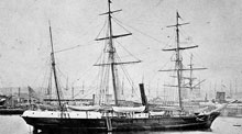 The steam barque Jeanette