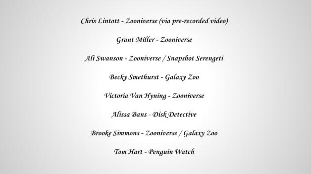 ZooCon 2015 Speakers