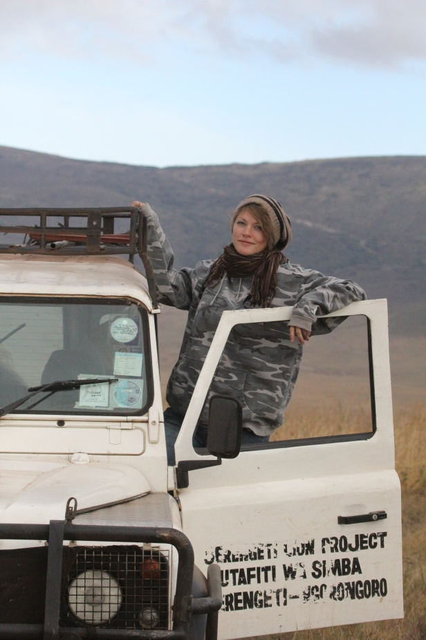 Ali hanging out in the Serengeti