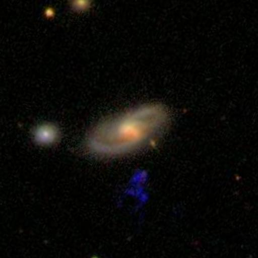 The original SDSS image seen by Hanny.