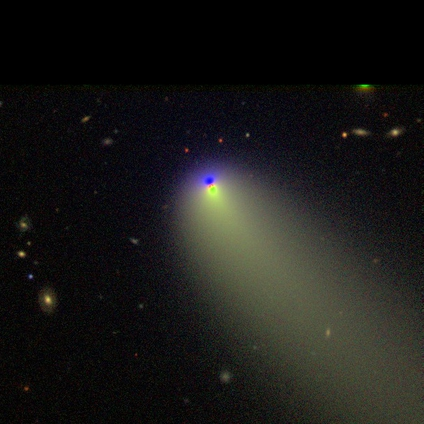 Click to see what people are saying about this image in Galaxy Zoo Talk